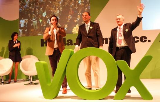 Vox aboga por una reforma del estado y la defensa de la unidad de España