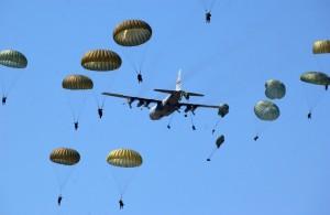 Muere un soldado paracaidista en unas maniobras militares en San Gregorio (Zaragoza)