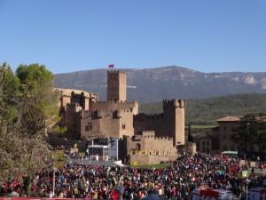 Explanada Castillo de Javier. http://www.iglesianavarra.org/