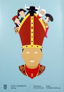 'Equipazo', del diseñador alicantino Ignacio Doménech, anunciará los Sanfermines 2014