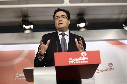 El PSOE solo negociará los
