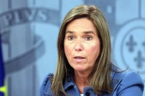 Ana Mato, actual Ministra de Sanidad