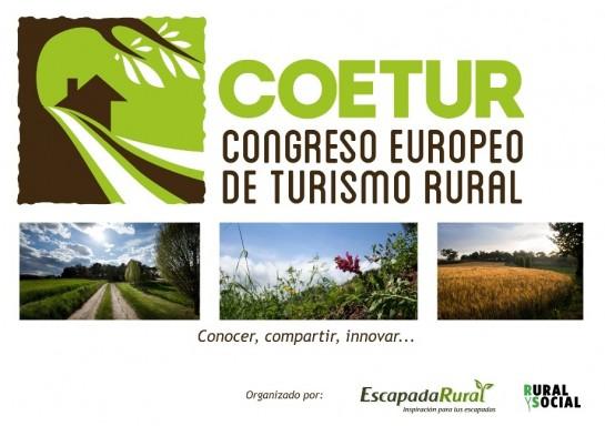 En mayo nace COETUR, eI Primer Congreso Europeo de Turismo Rural