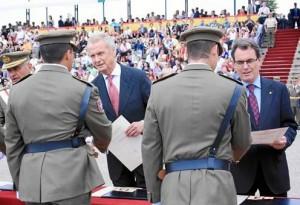 La Generalitat vuelve a pedir que el Ejército no se vaya de Cataluña