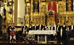 Pamplona renueva el Voto de las Cinco Llagas como se acordó hace 414 años tras la peste bubónica