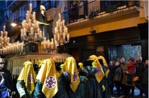 La Procesión del Santo Entierro de Pamplona partirá por su recorrido habitual (19:30 h.), con buen tiempo