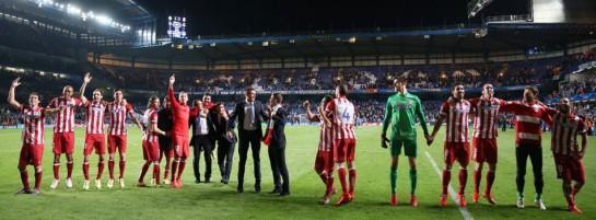 El Atlético de Madrid vuelve a una Final de la Liga de Campeones 40 años después. Chelsea 1 - Atlético 3