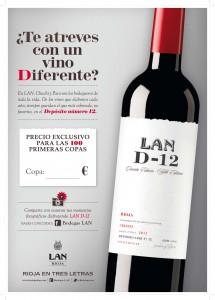 Cartel LAND-12 Te atreves con un vino diferente 1