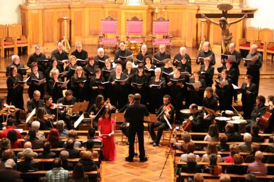 La Coral San José Abestbaza actúa este domingo en Condestable, con un repertorio de obras del siglo XX