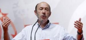 """Rubalcaba ofrece a Sánchez apoyo """"total"""" e """"incondicional"""""""