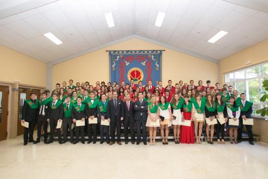 Graduación de 91 estudiantes de Ciencias Jurídicas de la UPNA