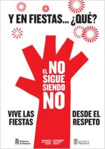 """Campaña del Gobierno de Navarra """"Y en fiestas ¿qué?"""""""