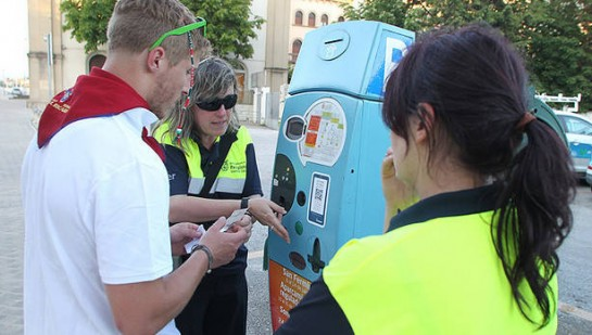 Pamplona será zona naranja de estacionamiento de vehículos durante las fiestas de San Fermín