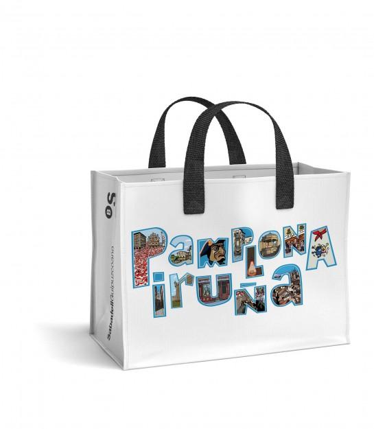 3.000 euros de premio y 20.000 bolsas de regalo, en la campaña comercial 'Creemos en Pamplona'