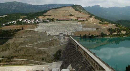 Comienzan las obras de la nueva presa para el recrecimiento del pantano de Yesa