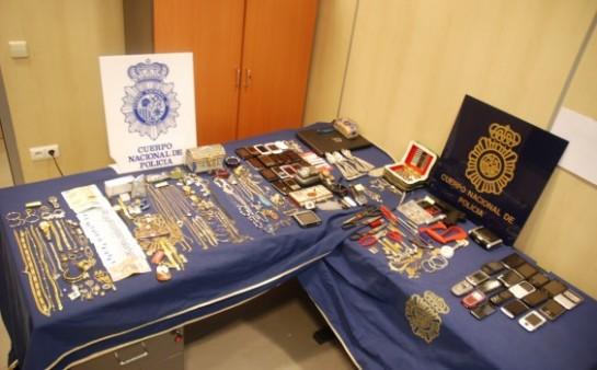 La Policía desarticula un grupo de seis rumanos autores de robo con fuerza en domicilios