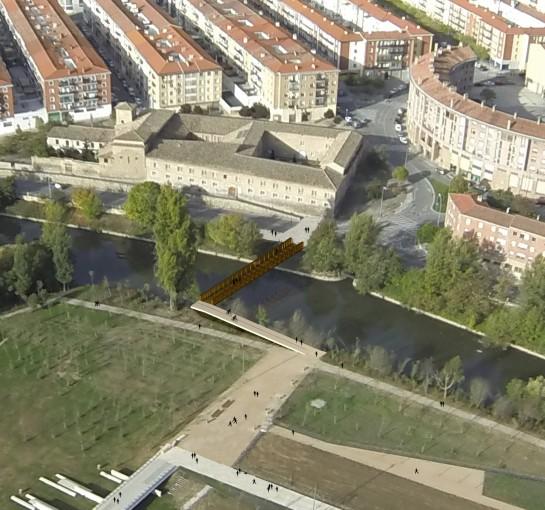 Los trabajos de construcción de la pasarela de Aranzadi comenzarán a mediados de noviembre