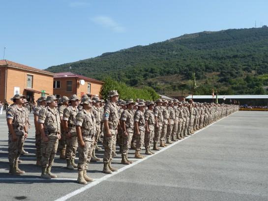 El Parlamento de Navarra reconoce el trabajo del Regimiento de Cazadores de Montaña América 66