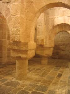 Cripta, Monasterio de Leyre (Navarra)