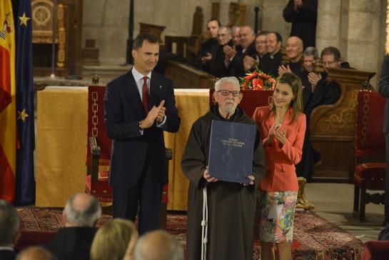 """D. Felipe de Borbón, en la entrega del Príncipe de Viana: """"Dedicaré todas mis fuerzas a servir a España como nación unida y diversa"""""""