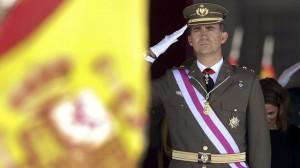 Felipe VI vestirá uniforme de gala del Ejército de Tierra en su proclamación