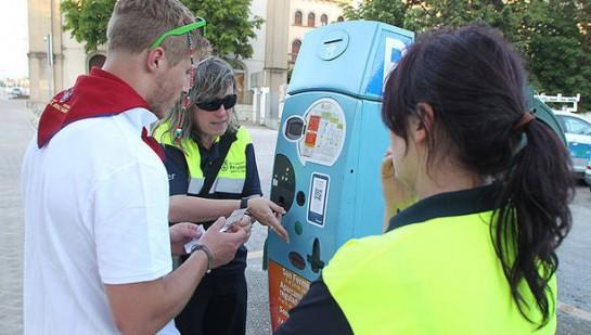 La zona naranja de estacionamiento regulado para San Fermín comenzará a funcionar el 5 de julio