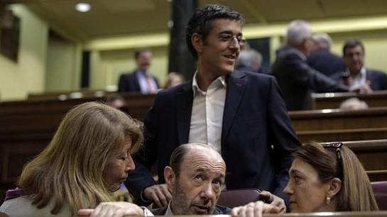 Eduardo Madina se presenta para sustituir a Pérez Rubalcaba al frente del PSOE