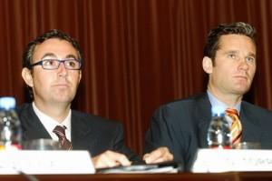 Iñaki Urdangarín y Diego Torres. elmundo.es-