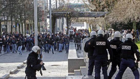 Andalucía y Navarra se sitúan a la cabeza en número de sanciones por manifestaciones en 2013