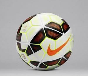 El nuevo balón de la Liga.