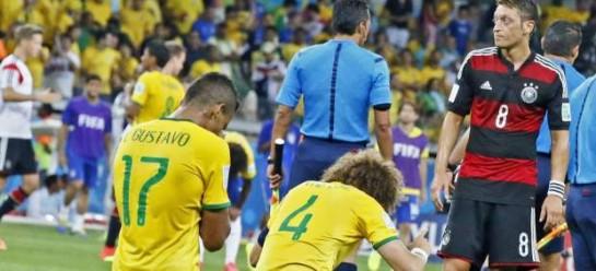 1-7: Alemania fulmina a Brasil