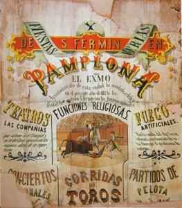 Cartel San Fermín del siglo XXI