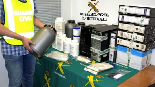 La Policía Nacional desmantela una red dedicada a la distribución ilegal de medicamentos