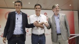 Los candidatos a liderar el PSOE apuran las últimas horas de campaña