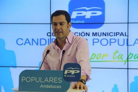 "Moreno (PP-A) aboga por crear ""una gran alternancia"""