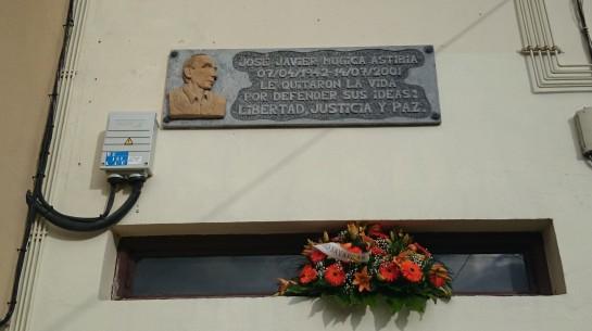 UPN recuerda en Leiza el XV asesinato de José Javier Múgica a manos de ETA