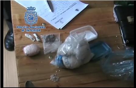 La Policía Nacional desarticula en Sevilla un grupo que distribuía droga a domicilio