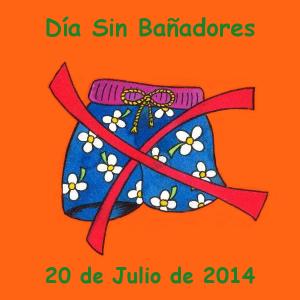 Logo del 'Día sin bañadores'
