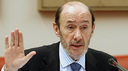 Rubalcaba aboga por la unión de constitucionalistas en la reforma del estado autonómico