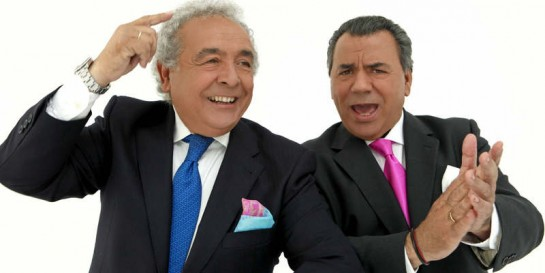 Los del Río ponen el broche al 'Día de los mayores' en la Plaza de la Cruz con ..... ¡¡¡Macarena!!!