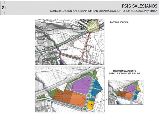 Las obras de urbanización del PSIS de Salesianos en Egüés salen a concurso por 5,1 millones de euros