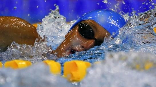 Belmonte logra la medalla de plata en 800 libre y finaliza última en 200 estilos
