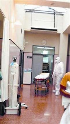 Activado en Alicante el protocolo contra el ébola por un posible caso