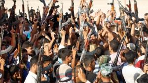 El grupo islamista radical Estado Islámico de Irak y el Levante (EIIL)