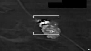 Estados Unidos lanzó un operativo aéro contra posiciones del EI.