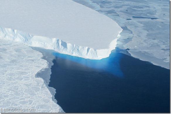 El hielo antártico se derrite más rápido de lo que pensamos