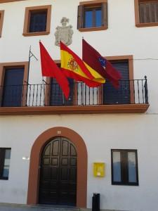 Fachada del Ayuntamiento de Garínoain,