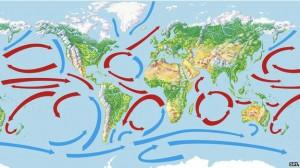 Las corrientes del Atlántico podrían ser responsables por la desaceleración de las temperaturas