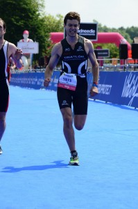 Luis Huate, participante en el Ironman 70.3 de Wiesbaden (Alemania)