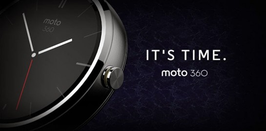 Motorola presentará el Moto 360, su reloj inteligente